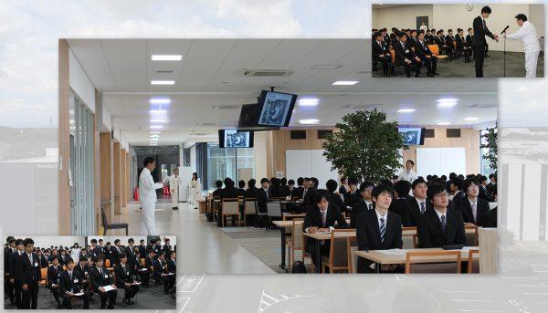 10月1日、来春入社予定者を迎え、内定式を執り行いました