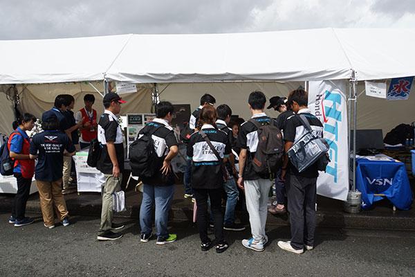 「第17回 全日本学生フォーミュラ大会」に企業ブースを出展します