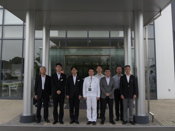 栃木県産業労働観光部長が企業視察されました